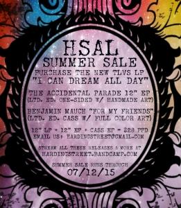 HSAL Summer Sale - going on through 07/12/15!
